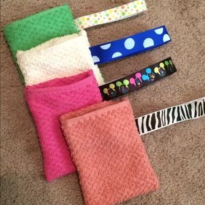 Soap pocket Terry cloth saver wash mitt handmade